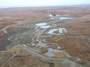 Near Nome, AK in 2006