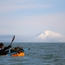 Packraft in Cook Inlet