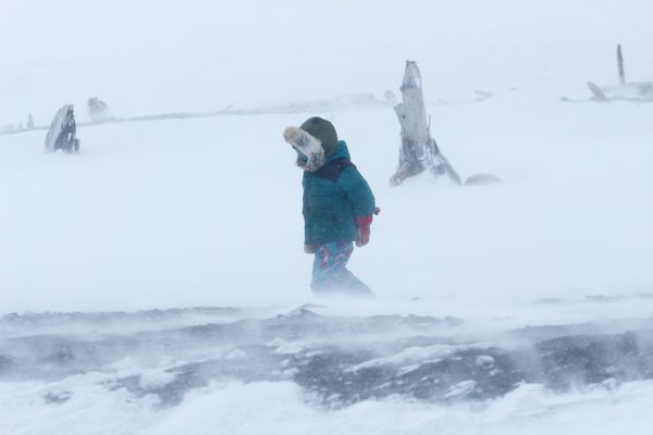 Driven By Winter Wind >> Bering Strait Spring