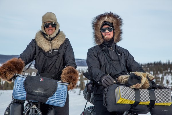In March of 2016 Bjørn Olson and Kim McNett fat-biked from Nome to Kotzebue, then on to Kivalina.