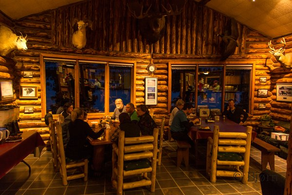 Rainy pass Lodge is the oldest hunting lodge in Alaska that is still in operation.