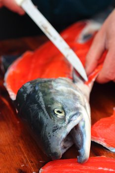 How will salmon fare in a warmer Alaska?
