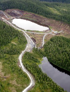 Slate Lakes at Kensington Mine