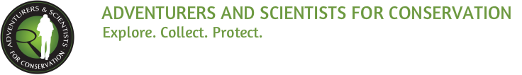 Adventurers and Scientists for Conservation logo
